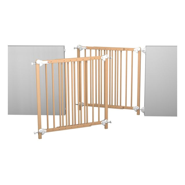 ateliers t4 barri re bois 73 110 cm fixe et portillon vernis pas cher achat vente. Black Bedroom Furniture Sets. Home Design Ideas