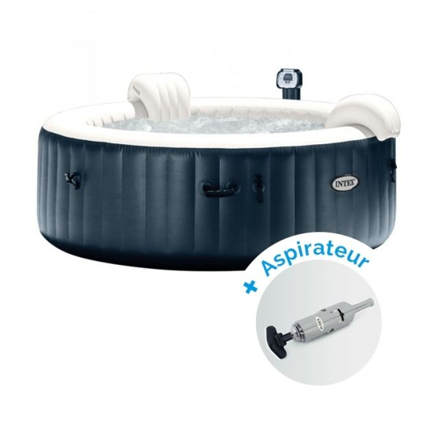 Intex Pack Spa Gonflable Pure Spa Plus Bulles 6 Personnes