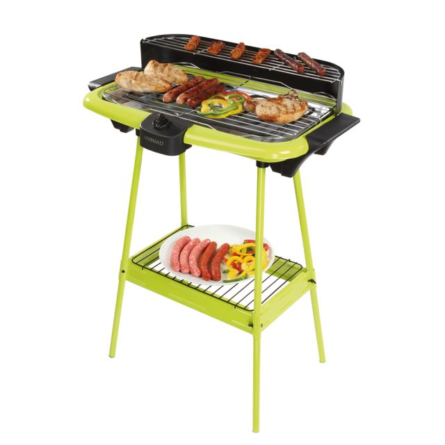 BE NOMAD - Barbecue électrique sur pieds vert DOM297V