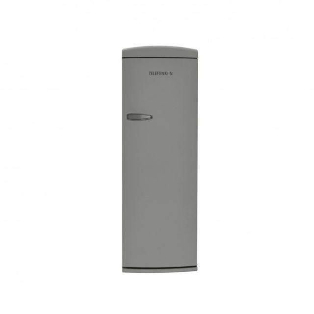 Telefunken Tfnvin311SLV Réfrigérateur 1 porte vintage Argenté 311L