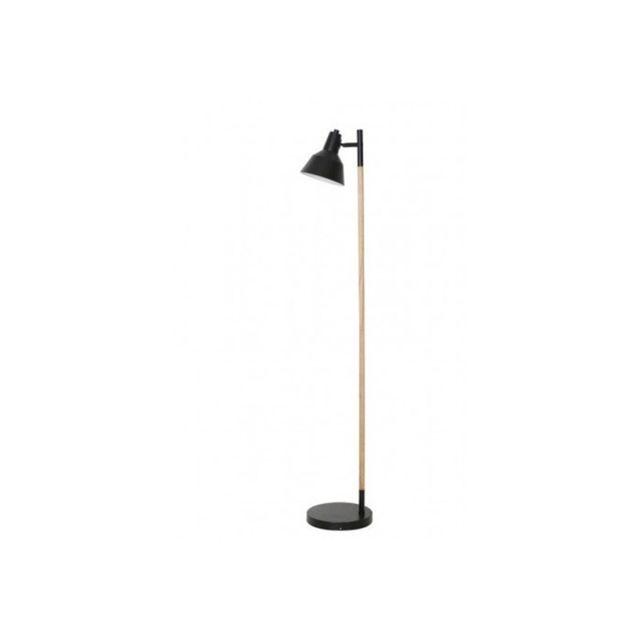 millumine lampadaire style scandinave nordic en bois brut et m tal noir 0cm x 0cm x 150cm. Black Bedroom Furniture Sets. Home Design Ideas