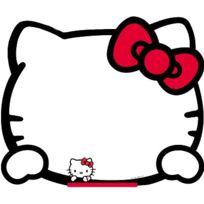 Jeujura - Tableau mural Hello Kitty : Feutre