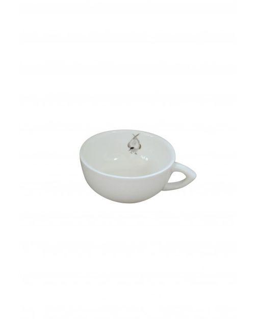 Decoshop Petite tasse à café oiseau