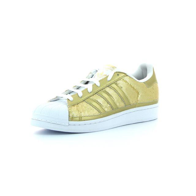 classic fit ba1af 5190f Adidas originals - Baskets basses Superstar W - pas cher Achat  Vente  Chaussures de ville femme - RueDuCommerce