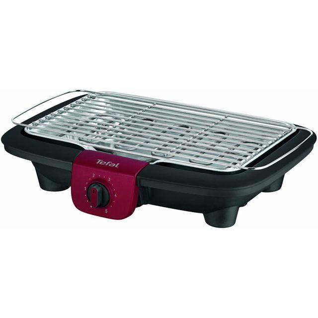 Tefal Barbecue électrique avec thermostat réglable 2200W