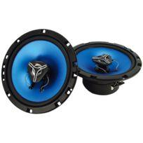 Topcar - 2 hauts parleurs auto 100W MédiaMobil diamètre 165M Ref: 902739