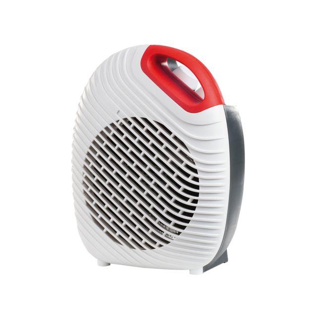domoclip chauffage soufflant blanc dom339w pas cher achat vente radiateur soufflant. Black Bedroom Furniture Sets. Home Design Ideas