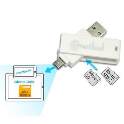 Cabling - Lecteur de carte mémoire Usb All in One pour Carte micro Sd et micro Sdxc