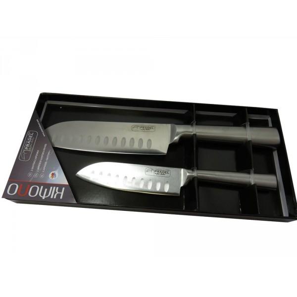 Set de 2 couteaux Santoku Kimono