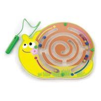 Viga Toys - 0614 - Loisirs CrÉATIFS - Labyrinthe MagnÉTIQUE - Escargot