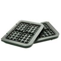 CUISINART - jeu de plaques gaufres pour gr4e - gr020e