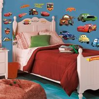 York Wall Coverings - Roommates Peel & Stick Wall Decal - Piston Cup Champs