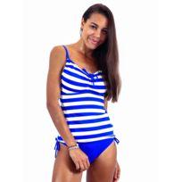 36d45003b9 Sunplaya - Maillot de bain 2 Pièces Tankini Sun Playa Azul Bleu