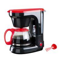 Domoclip - Cafetière électrique - capacité 6 tasses avec plaque chauffante anti-adhésive
