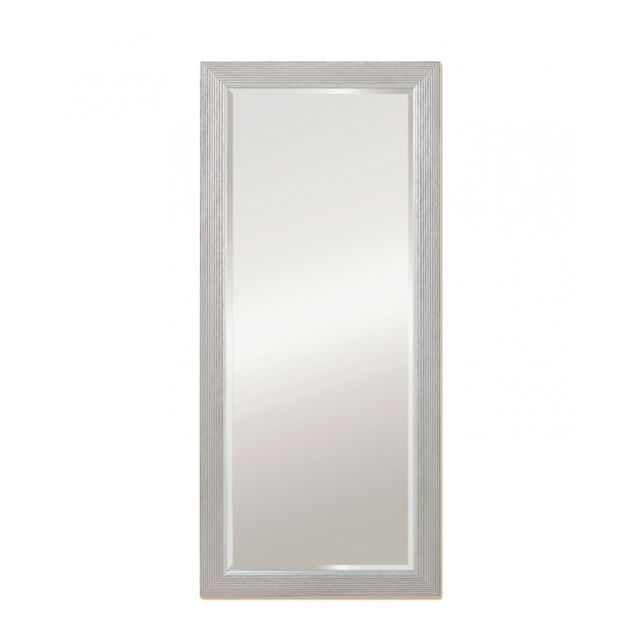 Deknudt Mirrors Miroir Athens Hall Silver Traditionnel Classique Rectangulaire Argenté 62x139 cm