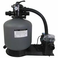 Poolstyle - groupe de filtration 11m3/h avec pompe et filtre à sable - 88031811