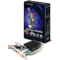SAPPHIRE TECHNOLOGY - HD 5450 - 1Go DDR3