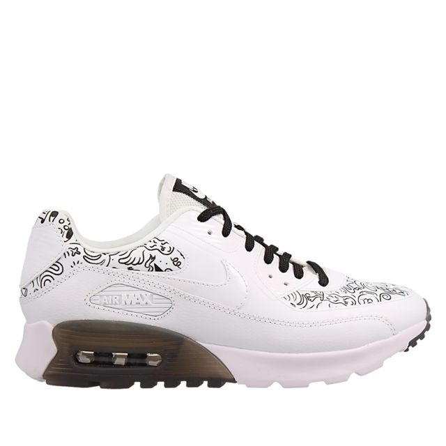 7c505ed59a7f Nike - Basket Air Max 90 Ultra Print - pas cher Achat   Vente Baskets homme  - RueDuCommerce
