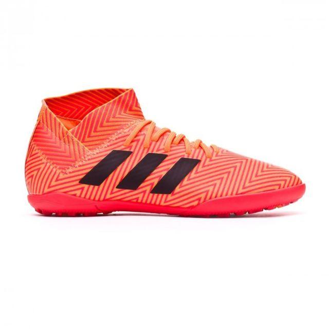 Adidas Nemeziz Tango 18.3 Turf enfant Zest Black Solar red