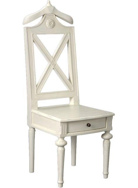 Amadeus - Valet de nuit chaise Perle - pas cher Achat / Vente Valet ...
