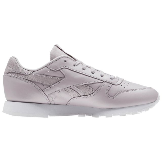 Reebok Classic Leather pas cher Achat Vente Baskets