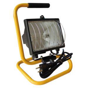 Tibelec projecteur sur pied de chantier 400w nc pas for Projecteur exterieur sur pied