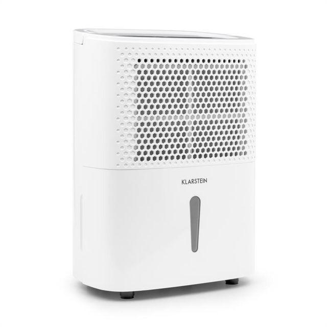 klarstein dryfy 10 d shumidificateur d 39 air compression 10l 24h 240w minuterie blanc pas. Black Bedroom Furniture Sets. Home Design Ideas