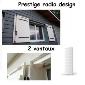 pratic volet kit de motorisation radio pour volets 2 battants prestige radio design pas cher. Black Bedroom Furniture Sets. Home Design Ideas