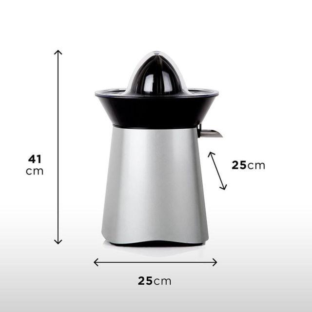 Duronic JE6 SR Presse agrumes électrique compact en Inox de