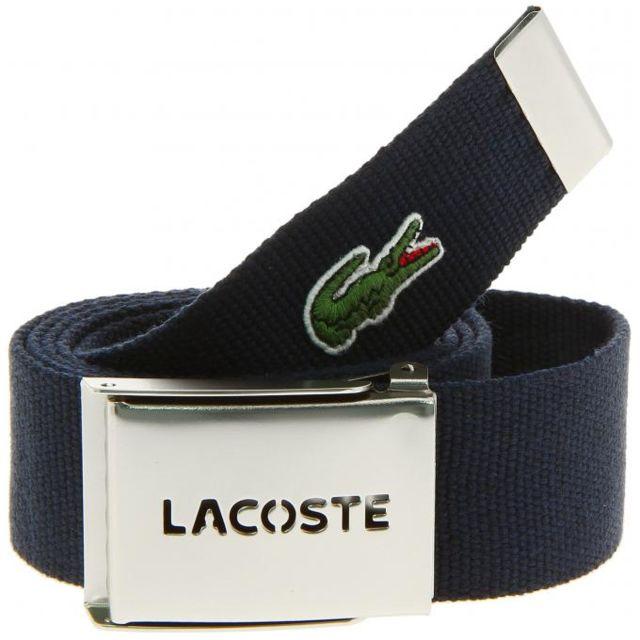 886d005b1c6 Lacoste - Coffret Ceinture Sportswear Bleu - 90 - pas cher Achat ...