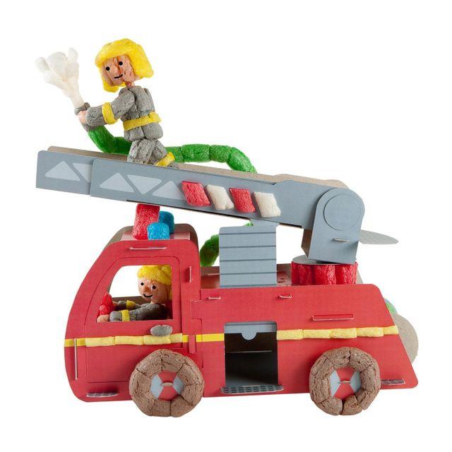 Playmais Classic Fun to Play : Camion de pompier
