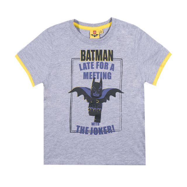 afe412b60e0b3 Lego - Batman Garcon Tee-shirt Gris - pas cher Achat   Vente Tee shirt  enfant - RueDuCommerce