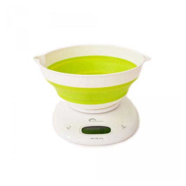 LITTLE BALANCE balance de cuisine électronique 5kg - 1g vert anis - 8064
