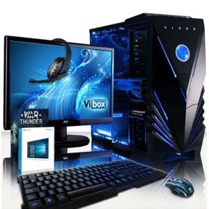 achat vibox sniper 10xlw pc gamer ordinateur de bureau. Black Bedroom Furniture Sets. Home Design Ideas