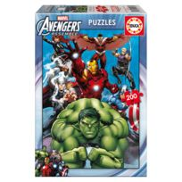 Educa Borras - Puzzle 200 pièces : Avengers
