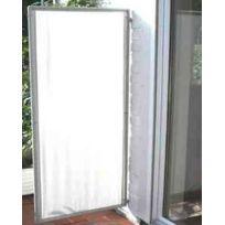 pegane paravent extrieur intrieur gris clair en polyester 170 x 70 cm