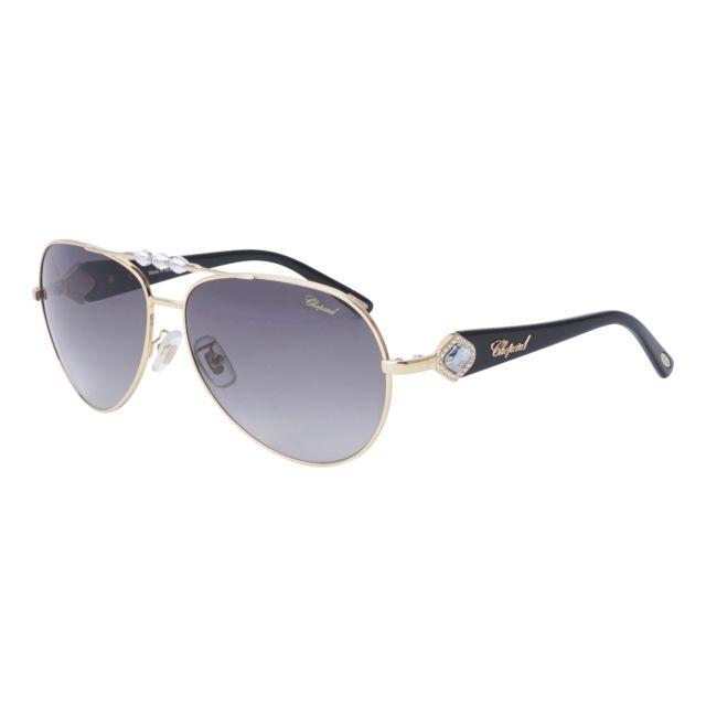 f3fd39c4dd5d9b Chopard - Sch-997-S 300 Or - Noir - Lunettes de soleil - pas cher Achat   Vente  Lunettes Sport - RueDuCommerce