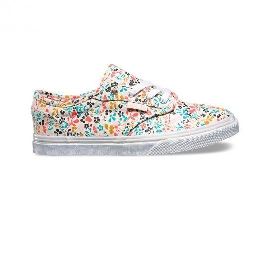 8d0d8804fff8 Vans - Chaussures Atwood Low Canden Flowers E16 - pas cher Achat   Vente  Baskets femme - RueDuCommerce