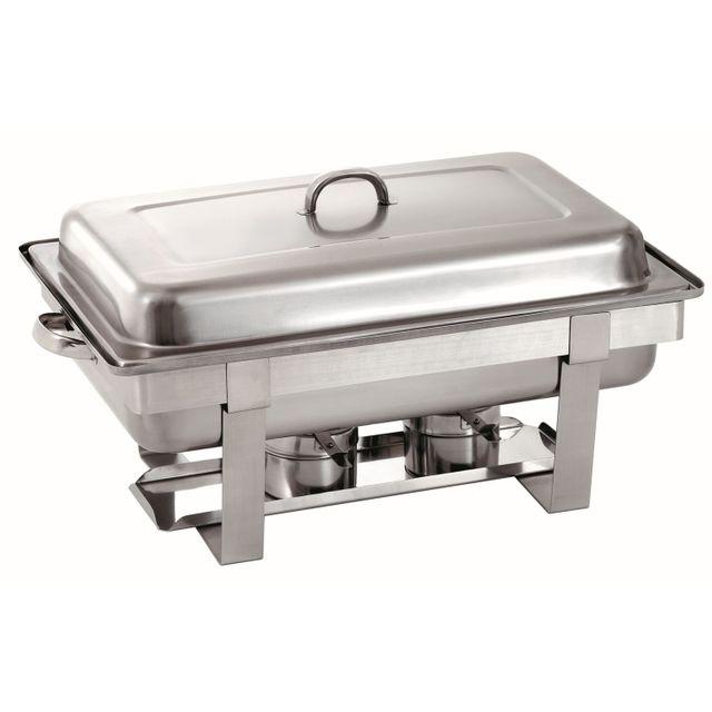 Bartscher Chafing dish Gn 1/1 avec plaque chauffante electrique