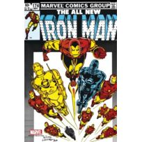 Semic Distribution - Mss010G - Figurine - Marvel Steel Cover - Iron Man , 174 - Giant Size
