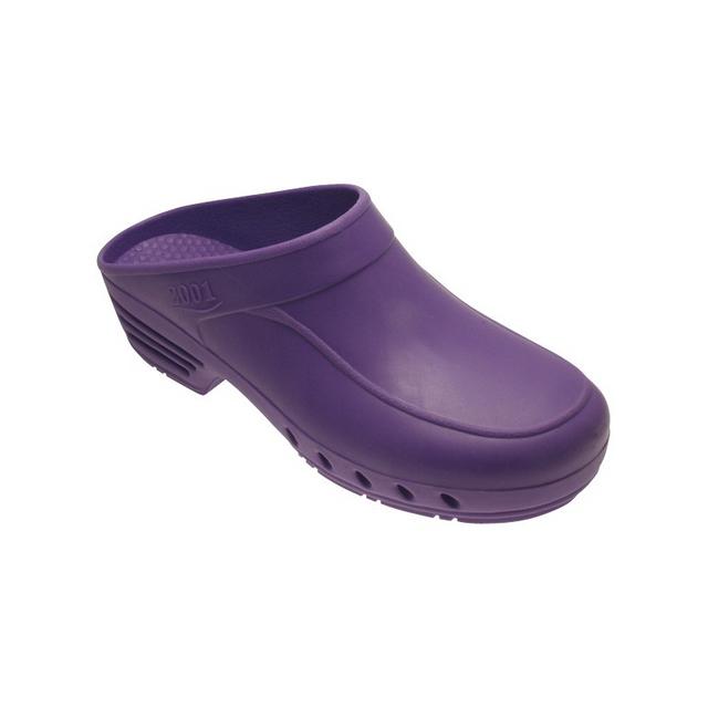 Label Blouse - Chaussure de Bloc Abloc Violet pour bloc opératoire style Sabot  de bloc Violet f9cbbc7603bf