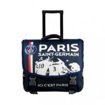 Paris Saint-germain - Psg Cartable à roulettes scolaire école enfant garçon sac à dos trolley Paris Saint Germain Football