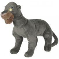 Nicotoy - Peluche Disney 50 Cm Bagheera - Panthere - Livre De La Jungle - Grande Peluche Licence