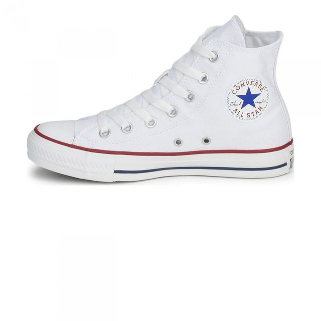 Converse - Chaussures All Star Hi Optical White W e17 Blanc