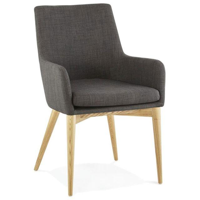 paris prix fauteuil design halden gris pas cher achat vente fauteuils rueducommerce. Black Bedroom Furniture Sets. Home Design Ideas