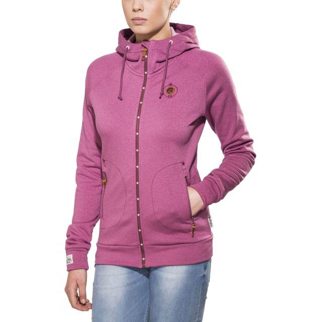 dee048875a1ed Maloja - KathyM Veste polaire Femme - violet - pas cher Achat / Vente  Coupe-vent, vestes - RueDuCommerce