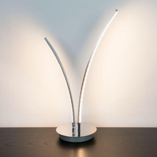 Lumières Led 2 46cm Brossé Corep Poser En Hauteur Métal À Lampe ynPv8ONwm0