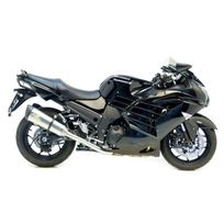 Leovince - Silencieux Factory R Homologue Evo Ii Position Origine - Titane - Kawasaki - Zzr 1400 I.E. 2012