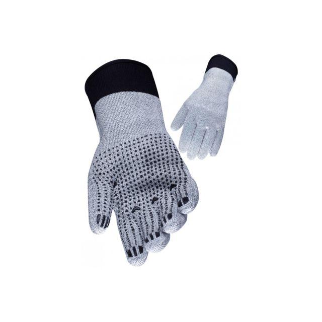 Lot de 24 Taille 10 niveau interm/édiaire Jah 5030/coton//polyester tricot gant bleu picots