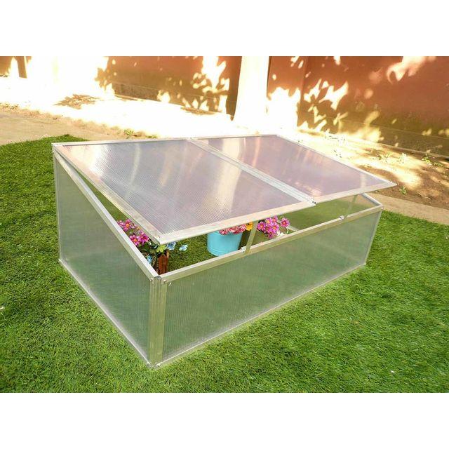 habitat et jardin mini serre en polycarbonate 108 x 56 x 40 cm - Mini Serre De Jardin